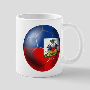 Haiti Soccer Ball Mug