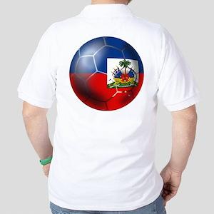 Haiti Soccer Ball Golf Shirt