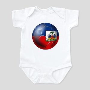 Haiti Soccer Ball Infant Bodysuit