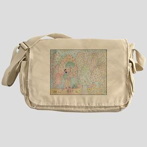 santos in shroom land Messenger Bag