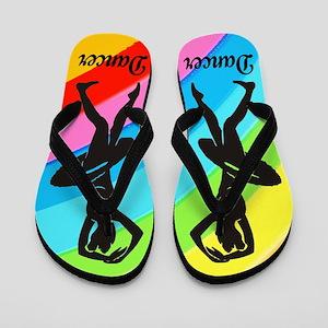 BEST DANCER Flip Flops