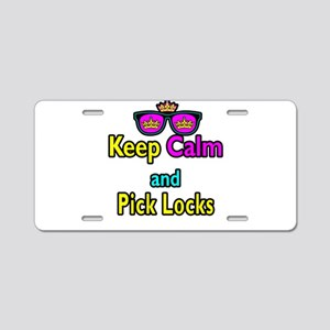 Crown Sunglasses Keep Calm And Pick Locks Aluminum