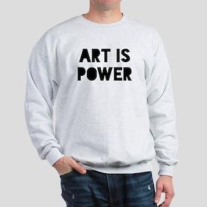 Art Power Sweatshirt