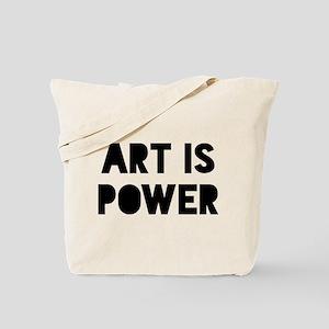 Art Power Tote Bag