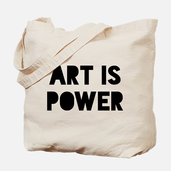 Art Power Tote Bag