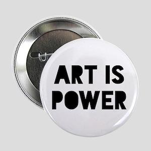 """Art Power 2.25"""" Button"""