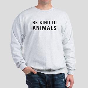 Be Kind Animals Sweatshirt