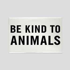 Be Kind Animals Rectangle Magnet