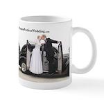 Picture Perfect Wedding Car Mug