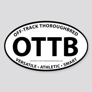 OTTB Sticker (Oval)