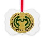 Drill Sergeant Picture Ornament