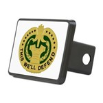Drill Sergeant Rectangular Hitch Cover