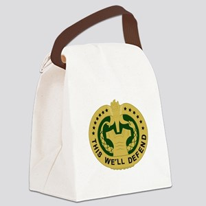 Drill Sergeant Canvas Lunch Bag