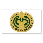 Drill Sergeant Sticker (Rectangle)