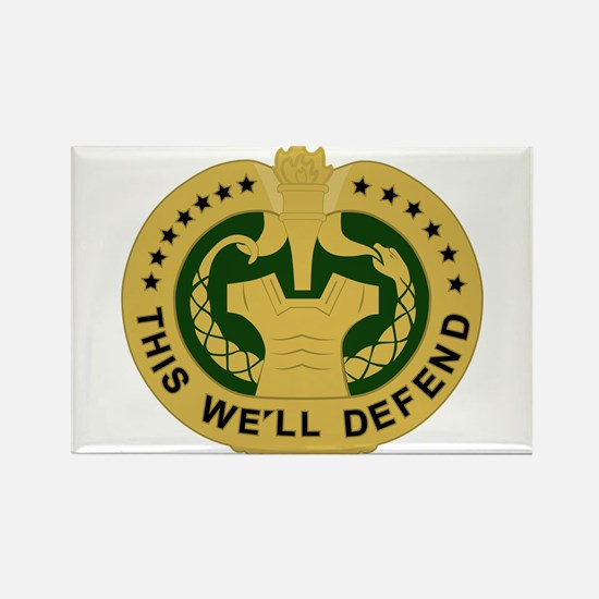 Drill Sergeant Rectangle Magnet