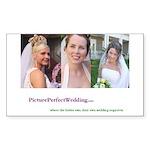 3 Brides Rectangle Sticker