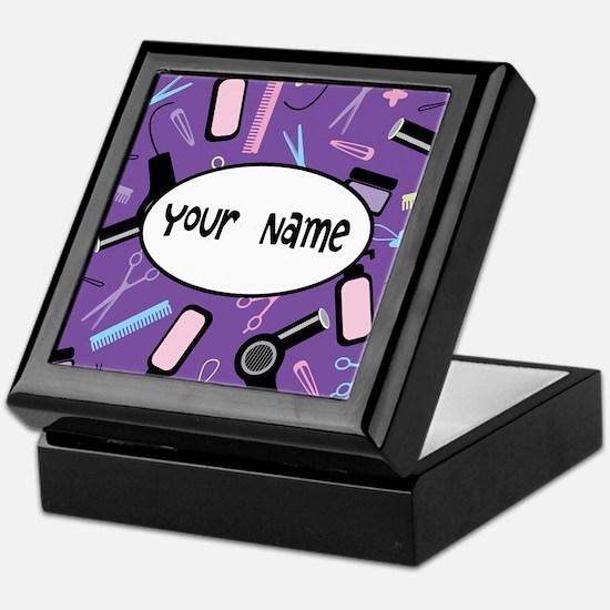 Personalized Stylist Keepsake Box