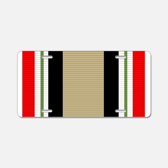 Iraq campaign Aluminum License Plate