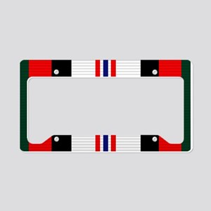 Afghanistan campaign ribbon License Plate Holder