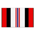 Afghanistan campaign ribbon Sticker