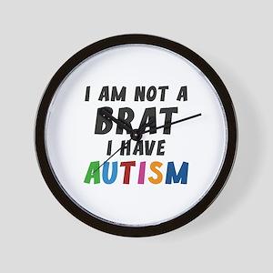 I Have Autism Wall Clock