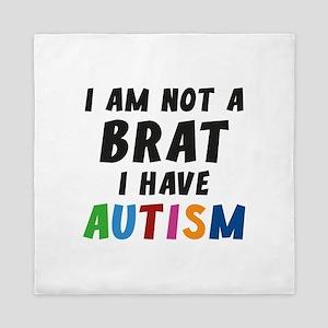 I Have Autism Queen Duvet