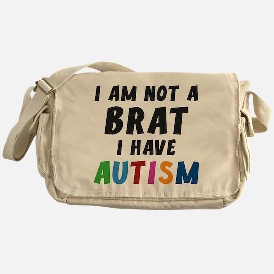 I Have Autism Messenger Bag