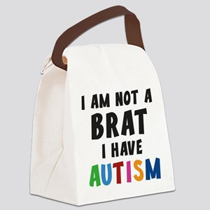 I Have Autism Canvas Lunch Bag