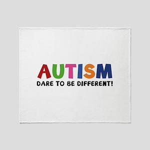 Autism Dare To Be Different! Stadium Blanket
