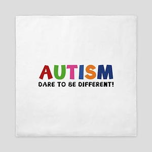 Autism Dare To Be Different! Queen Duvet