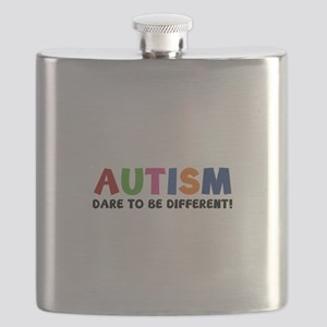 Autism Dare To Be Different! Flask