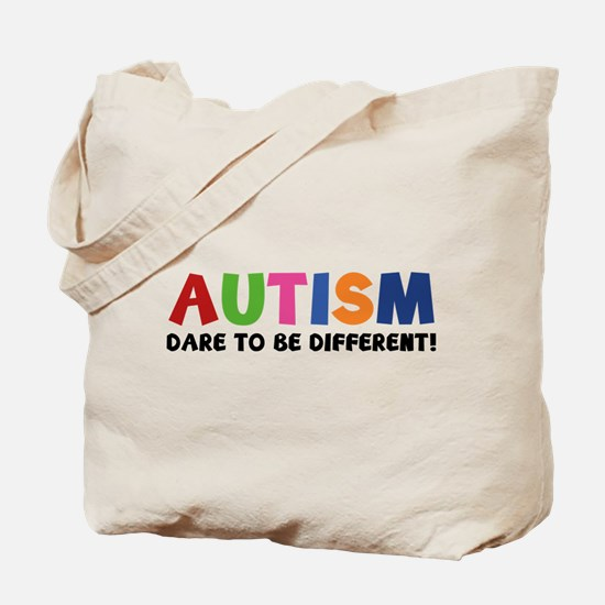 Autism Dare To Be Different! Tote Bag