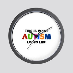 This is what Autism looks like Wall Clock