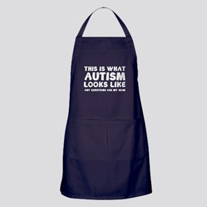 This is what Autism looks like Apron (dark)