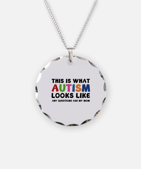 This is what Autism looks like Necklace