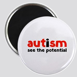Autism See The Potential Magnet