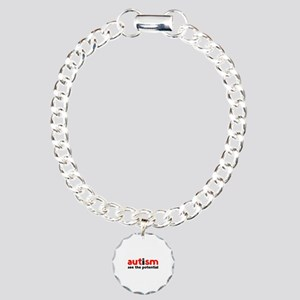 Autism See The Potential Charm Bracelet, One Charm