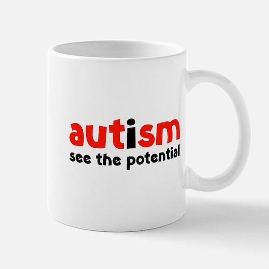 Autism See The Potential Mug