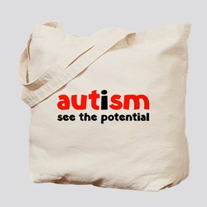Autism See The Potential Tote Bag