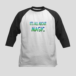 About Magic Kids Baseball Jersey