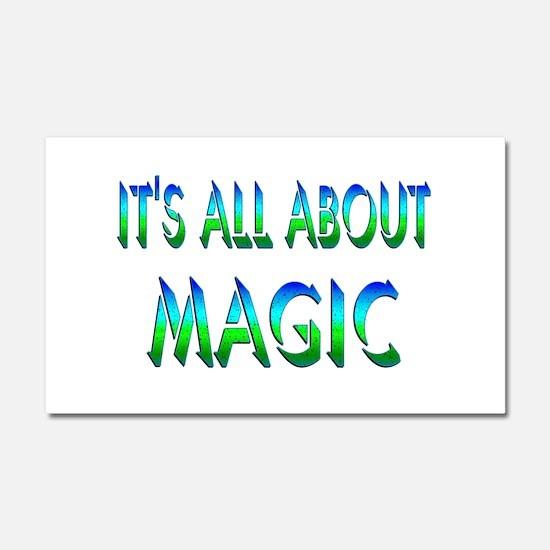 About Magic Car Magnet 20 x 12