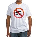 Stop Mexico Fitted T-Shirt