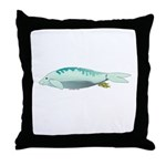 Duogong with Jacks Throw Pillow
