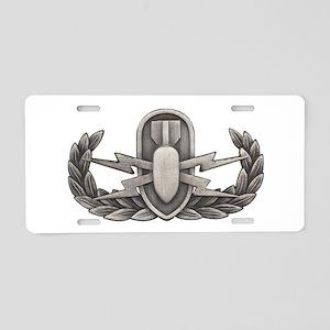 EOD Aluminum License Plate