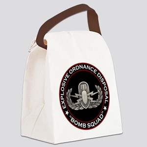 "EOD ""Bomb Squad"" Canvas Lunch Bag"