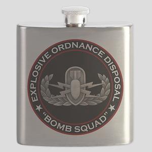 """EOD """"Bomb Squad"""" Flask"""