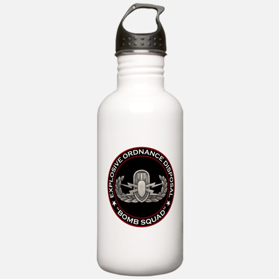 "EOD ""Bomb Squad"" Water Bottle"