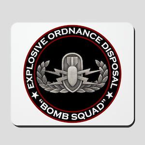 """EOD """"Bomb Squad"""" Mousepad"""
