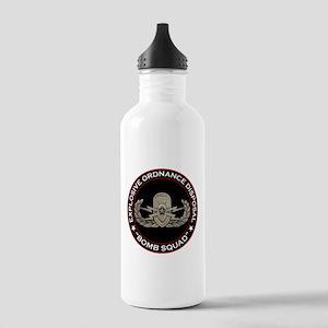 """EOD Senior """"Bomb Squad"""" Stainless Water Bottle 1.0"""