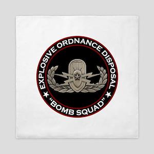 """EOD Senior """"Bomb Squad"""" Queen Duvet"""